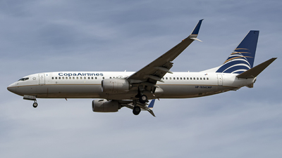 A picture of HP1856CMP - Boeing 7378V3 - Copa Airlines - © Eduardo Manuel