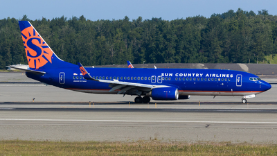 N825SY - Boeing 737-8F2 - Sun Country Airlines