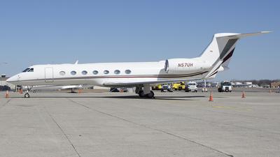 N57UH - Gulfstream G550 - Private