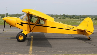 LN-LJE - Piper PA-18-150 Super Cub - Private