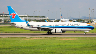 A picture of B1736 - Boeing 73781B - China Southern Airlines - © Captain Lorca