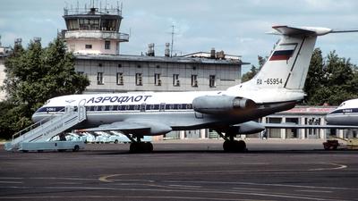RA-65954 - Tupolev Tu-134A-3 - Komiavia