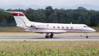 HB-ITN - Gulfstream G-III - Private
