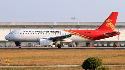 A picture of B1842 - Airbus A320232 - Shenzhen Airlines - © Egg_Shadowsine Aviation