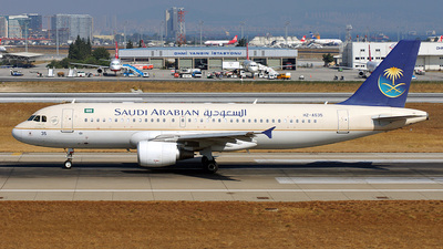 HZ-AS35 - Airbus A320-214 - Saudi Arabian Airlines