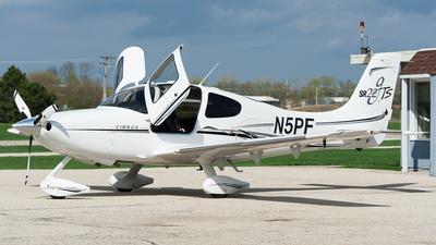 N5PF - Cirrus SR22-GTS - Private