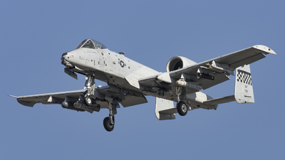 81-0971 - Fairchild A-10C Thunderbolt II - United States - US Air Force (USAF)