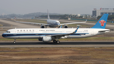 B-8548 - Airbus A321-211 - China Southern Airlines