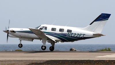 N722ET - Piper PA-46-350P Malibu Mirage/Jetprop DLX - Private