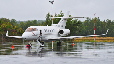 VP-CDE - Raytheon Hawker 800XP - Private