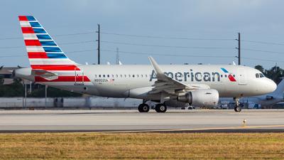 N9002U - Airbus A319-112 - American Airlines