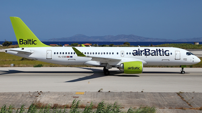 YL-CSE - Bombardier CSeries CS300 - Air Baltic