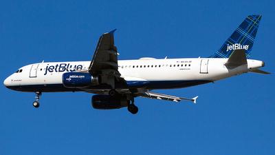 N535JB - Airbus A320-232 - jetBlue Airways