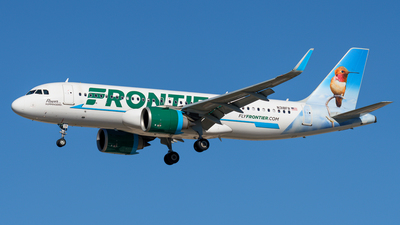 N318FR - Airbus A320-251N - Frontier Airlines
