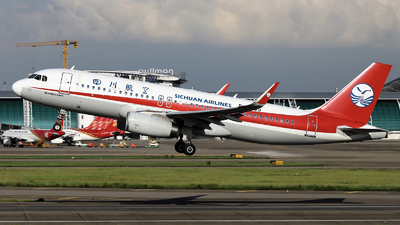 A picture of B9935 - Airbus A320232 - Sichuan Airlines - © nibrage