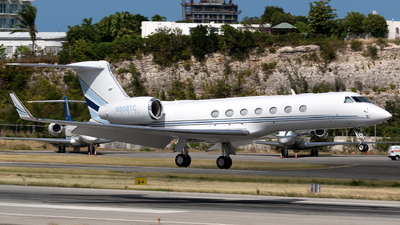N808TC - Gulfstream G550 - Private