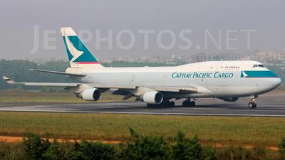 B-KAF - Boeing 747-412(BCF) - Cathay Pacific Cargo