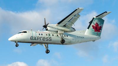 C-FGQK - Bombardier Dash 8-102 - Air Canada Express (Jazz Aviation)