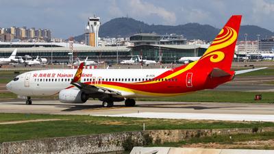 B-7171 - Boeing 737-86N - Hainan Airlines