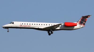 A picture of GSAJC - Embraer ERJ145EP - Loganair - © Nigel Fenwick