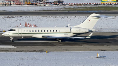 HB-JFY - Bombardier BD-700-1A10 Global Express - Private