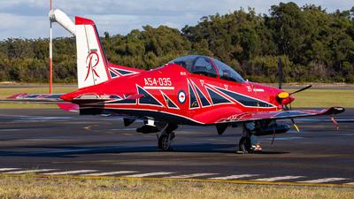 A54-035 - Pilatus PC-21 - Australia - Royal Australian Air Force (RAAF)
