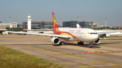 A picture of B303C - Airbus A330343 - Hainan Airlines - © ZhangYang