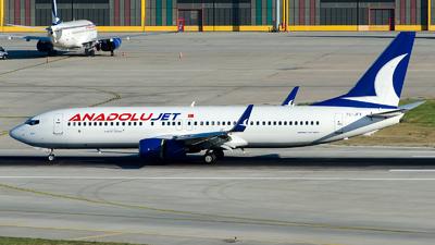 TC-JFY - Boeing 737-8F2 - AnadoluJet