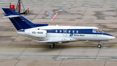 VQ-BAM - Raytheon Hawker 750 - Sirius Aero