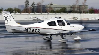 A picture of N7800 - Cirrus SR22T - [0015] - © Jeremy D. Dando