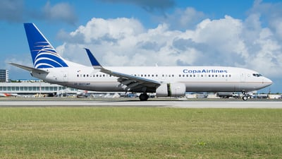 HP-1857CMP - Boeing 737-8V3 - Copa Airlines