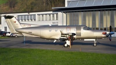 LX-LAB - Pilatus PC-12/45 - Jetfly Aviation