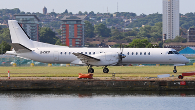 G-CIEC - Saab 2000 - Eastern Airways
