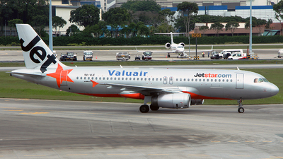 9V-VLE - Airbus A320-232 - Jetstar Asia Airways