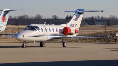 N496TM - Beechcraft 400A Beechjet - Travel Management Company