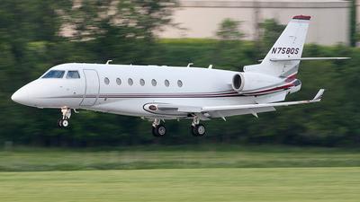 N758QS - Gulfstream G200 - NetJets Aviation