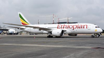 A picture of ETATL - Boeing 7878 Dreamliner - Ethiopian Airlines - © ORTIASpotter