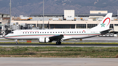 A picture of CNRGR - Embraer E190AR - Royal Air Maroc - © Fernandez Manuel