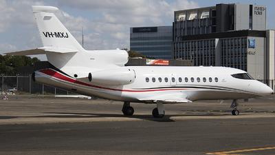 VH-MXJ - Dassault Falcon 900EX - Maxem Aviation