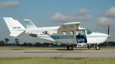 A picture of VHIOK - Cessna 337G - [33701767] - © George Canciani