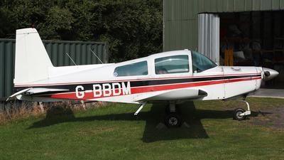 G-BBDM - Grumman American AA-5 Traveler - Private