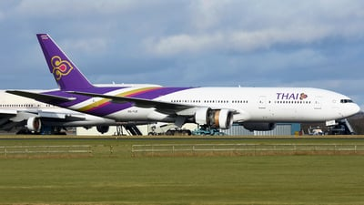HS-TJF - Boeing 777-2D7 - Thai Airways International