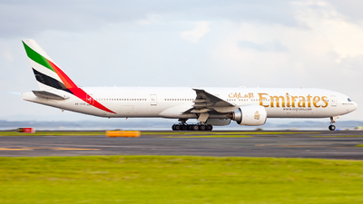 A picture of A6ECQ - Boeing 77731H(ER) - Emirates - © Dominic Oakes