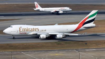 OO-THC - Boeing 747-4HAERF - Emirates SkyCargo (ASL Airlines)