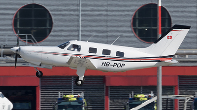 HB-POP - Piper PA-46-350P Malibu Mirage - Private