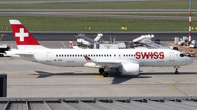 HB-JCM - Bombardier CSeries CS300 - Swiss