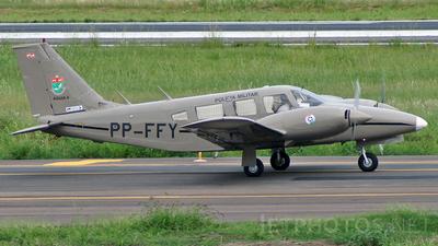 PP-FFY - Embraer EMB-810 Seneca - Brazil - Military Police of Santa Catarina State