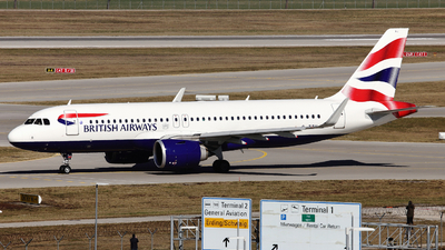 A picture of GTTNJ - Airbus A320251N - British Airways - © Domi Einert