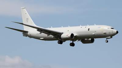 ZP801 - Boeing P-8A Poseidon - United Kingdom - Royal Air Force (RAF)