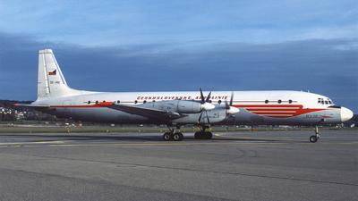 OK-PAI - Ilyushin IL-18V - CSA Ceskoslovenske Aerolinie